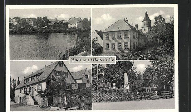 Postkarte Buch a.W.